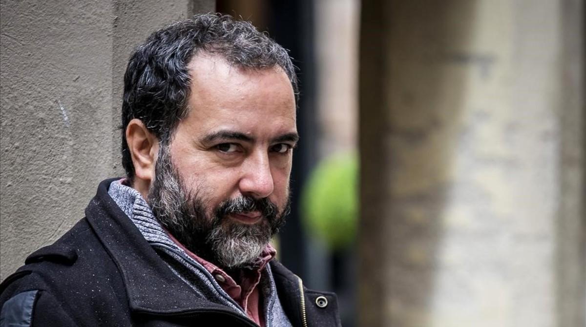 El escritor chileno Rafael Gumucio, en Barcelona.