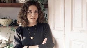 La periodista y escritora Montserrat Roig, en 1987.