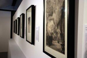 La exposición de grabados de Rembrandt se podrá visitar en el Centre Cultural Terrassa hasta el 24 de febrero.