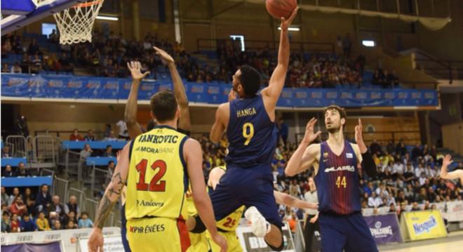 El Barça suma una altra Lliga Catalana amb facilitat davant de l'Andorra