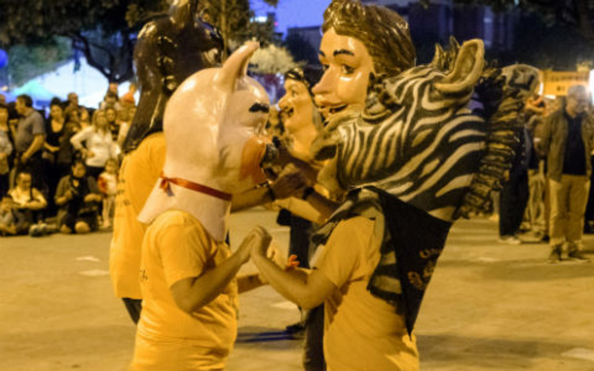 Gegants y capgrosos protagonizarán algunos de los actos más tradicionales de la Fiesta Mayor de Bellvitge