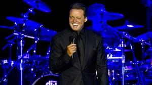 El cantante mexicano Luis Miguel, en un concierto celebrado en Río de Janeiro,