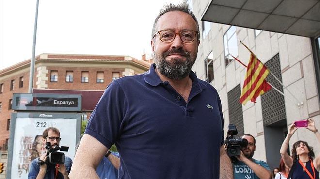 El portavoz de Ciudadanos Girauta, ctitica la alianzas de Podemos, Batasuna e independendentistas.