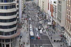Vista de la nueva Gran Vía.