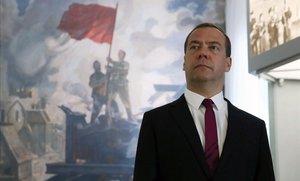 El hasta ahora primer ministro ruso, Dmitri Medvédev.