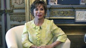 Isabel Allende, en Madrid, en el 2017.