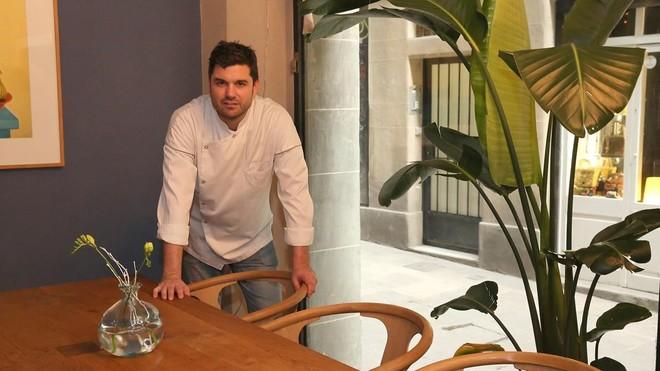 El cocinero Alain Guiard, en uno de los espacios de A Restaurant.
