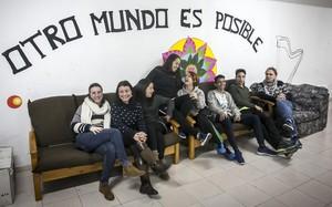 Participants de lassociacióLa Rotllana, de Badalona.