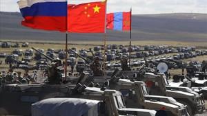 Fotogaleria: les imatges de les maniobres militars de l'aliança Rússia-Xina