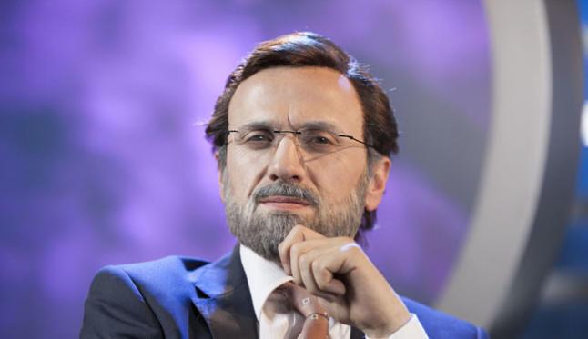 José Mota, caracterizado de Mariano Rajoy.