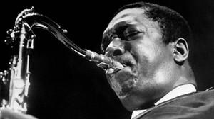 Un retrato de John Coltrane