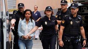 Tercera sesión del juicio de Ana Julia Quezada, acusada de la muertede Gabriel Cruz.