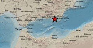Registrat un lleuger terratrèmol a la província d'Almeria