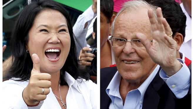 Keiko Fujimori se medirá en la segunda vuelta con el exbanquero Kuzcynski