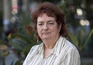 Lindsey Davies, en el 2012, durante una visita a Barcelona.