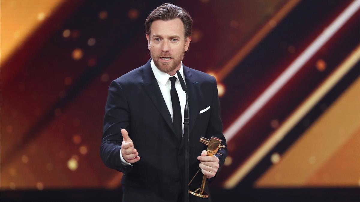 El actor escocés Ewan McGregor.
