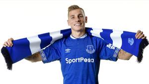 Lucas Digne, nuevo jugador del Everton.