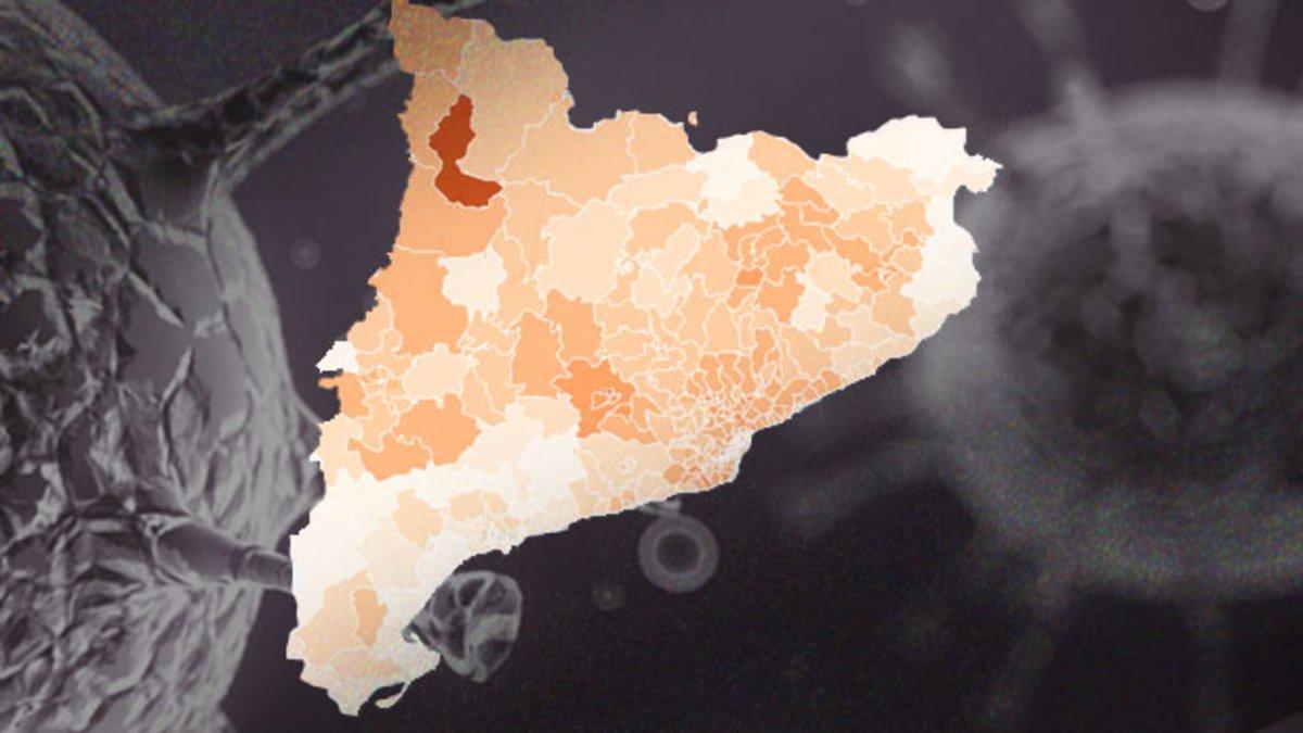 MAPA | Coronavirus en Catalunya: casos por municipios y barrios