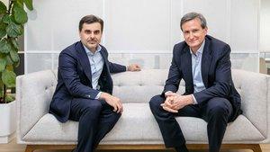 Borja Oyarzabal y Borja Pérez, socios de Tresmares Capital.