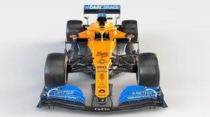 El McLaren con el que Carlos Sainz quiere buscar más podios.