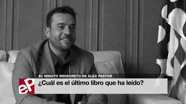 El minuto indiscreto de Álex Pastor, alcalde de Badalona, en el ciclo de entrevistas Los alcaldes hacen balance de EL PERIÓDICO.