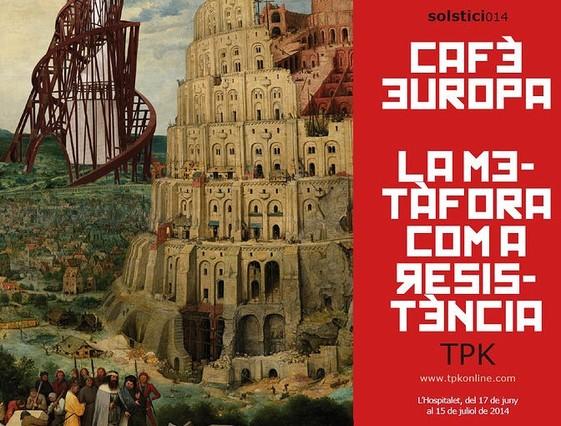 La mostra Cafè Europa - La metàfora com a resistència es podrà visitar fins al 15 de juliol.