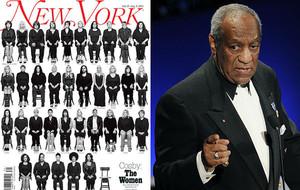 35 mujeres que acusan a Bill Cosby de violarlas le plantan cara en 'New York Magazine'.