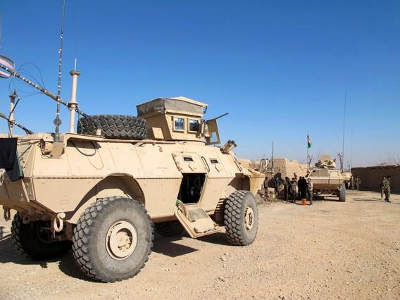 Patrulla de las fuerzas de seguridad en Afganistán en una imagen de archivo.