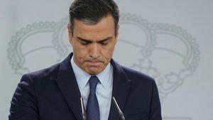 Pedro Sánchezanuncia la convocatoria de nuevas elecciones.