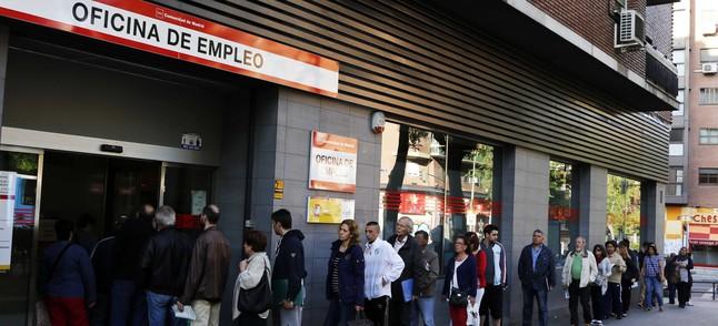 El paro cae en personas y se crean empleos - Oficina empleo madrid ...