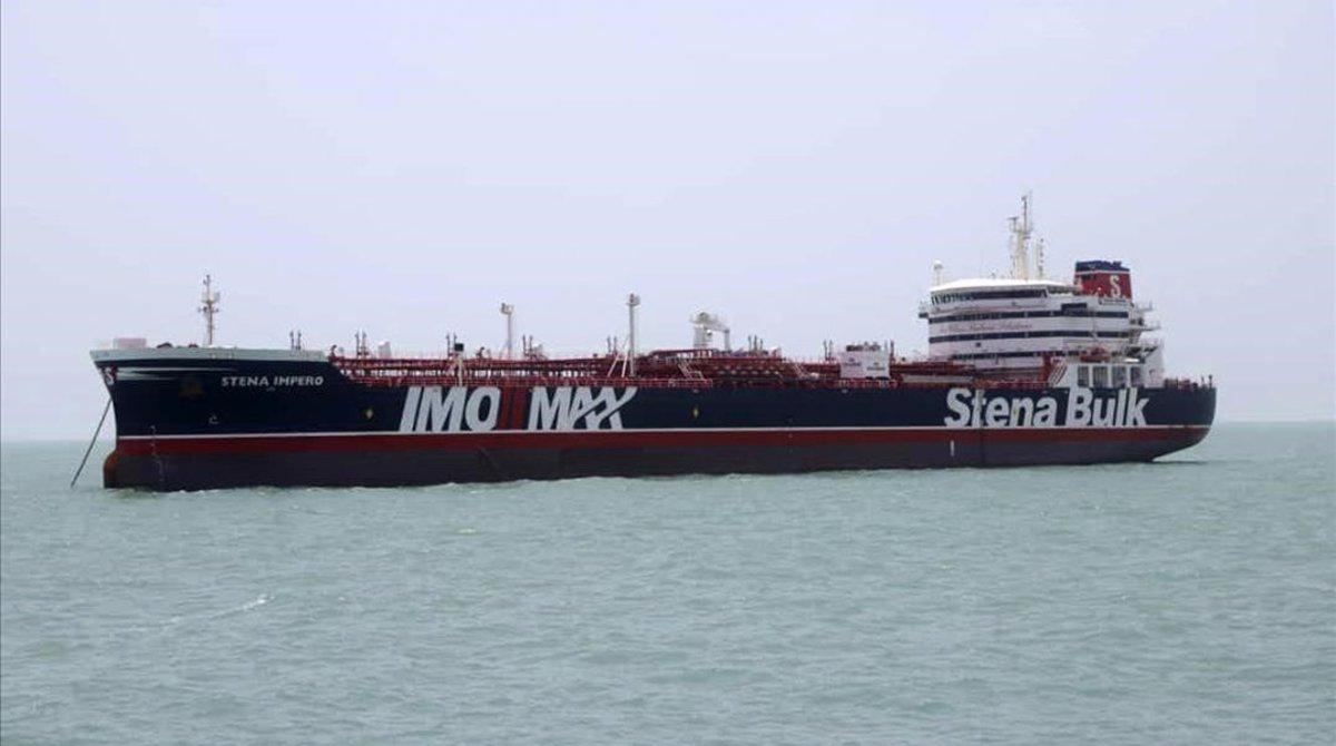 El petroleno 'Stena Impero'.