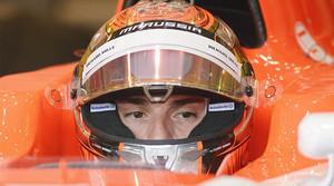 El piloto francés Jules Bianchi, el año pasado, durante una carrera.