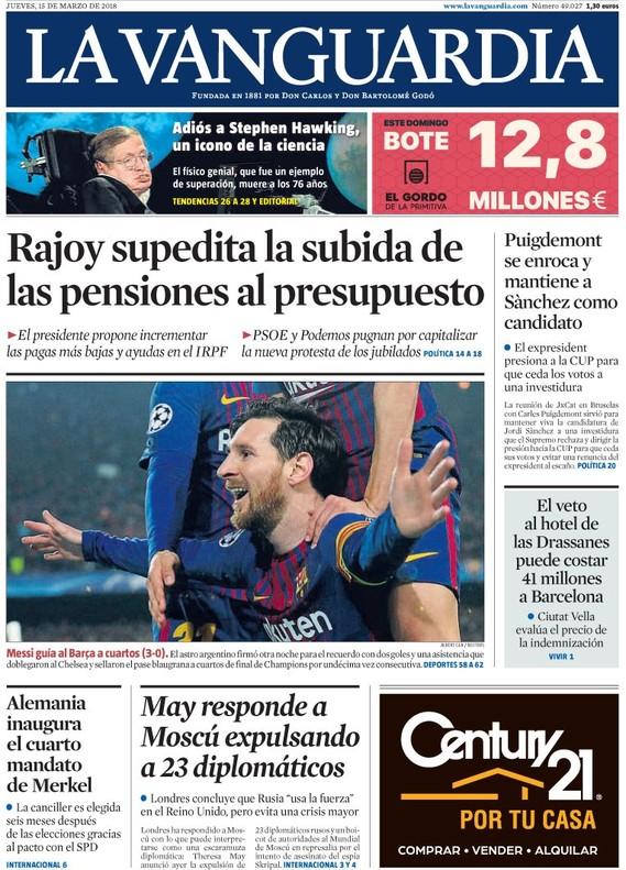 El quiosco salva a Rajoy del agujero negro de las pensiones