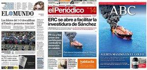 Prensa de hoy: Las portadas de los periódicos del viernes 14 de junio del 2019