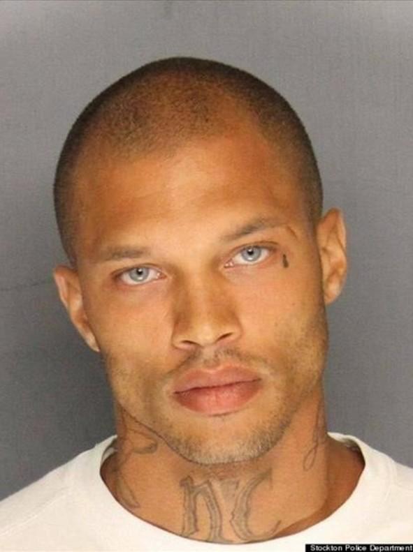 Una imagen de archivo de Jeremy Meeks, el preso más guapo del mundo.