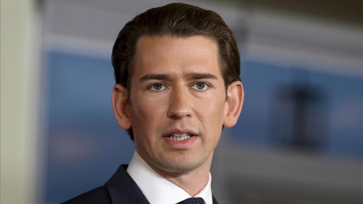 El primer ministro austriaco, Sebastian Kurz.