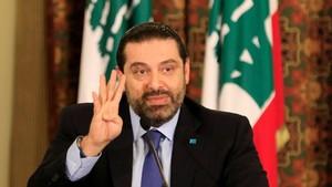 El primer ministro libanés, Saad Hariri.