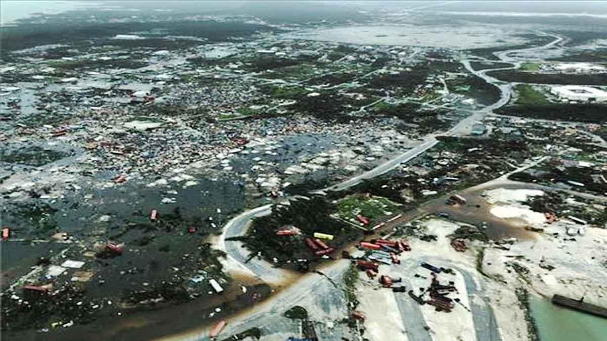 Primeras imágenes de la devastación de las Bahamas tras el 'Dorian'.