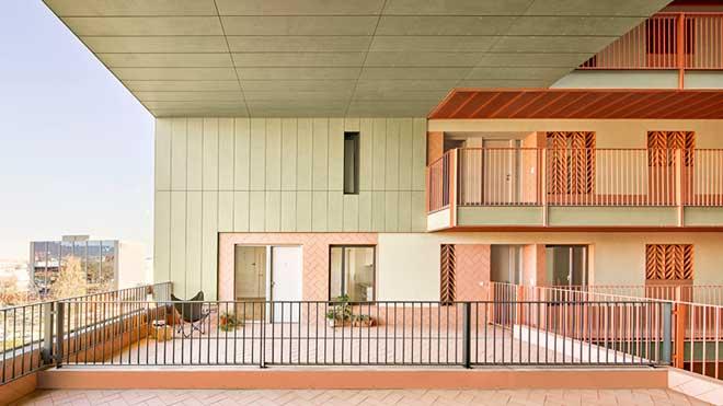 Un proyecto de 79 viviendas públicas en Sant Boi, premio FAD de Arquitectura.
