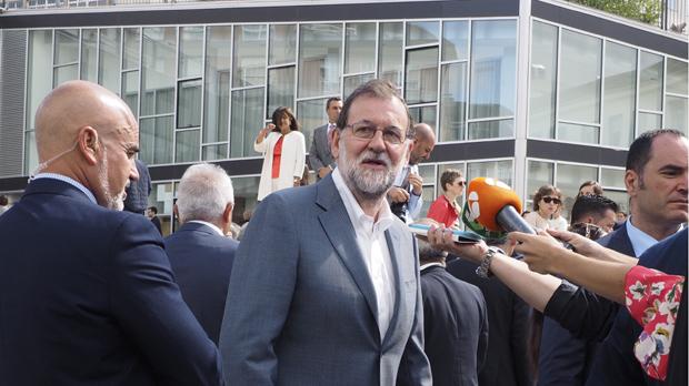Rajoy, en Chantada donde presidió la conmemoración del 40 aniversario del grupo hotelero Hotusa.