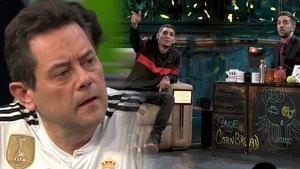 """El Jincho confunde a David Broncano con Tomás Roncero: """"¡El mánager me ha engañado!"""""""