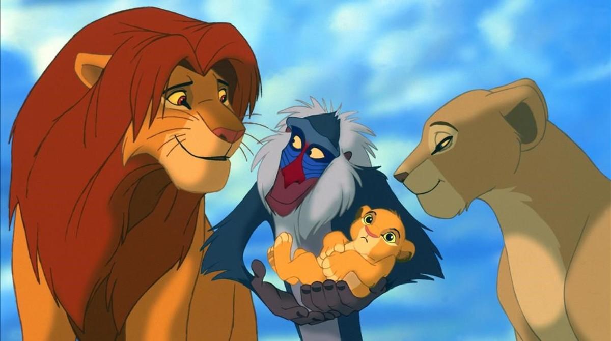 El Rey León se estrenó en 1994