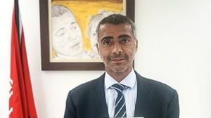 Romário, en una imagen como senador.