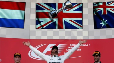Hamilton guanya a Suzuka i s'acosta al seu quart títol