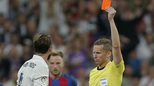 Un partit de suspensió a Sergio Ramos per la seva entrada a Messi