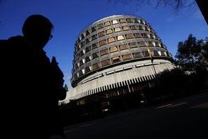 La sede del Tribunal Constitucional, en Madrid