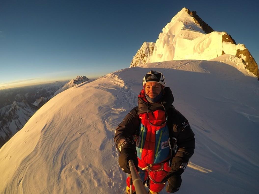Sergi Mingote ha logrado coronar en sólo una semana dos de los seis ocho miles que se propuso ascender