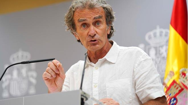 Simón agradece a Bélgica y Reino Unido que desincentiven los viajes a España.
