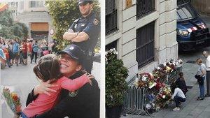 El director de la Policia felicita les festes de Nadal amb una foto de la Prefectura de Via Laietana