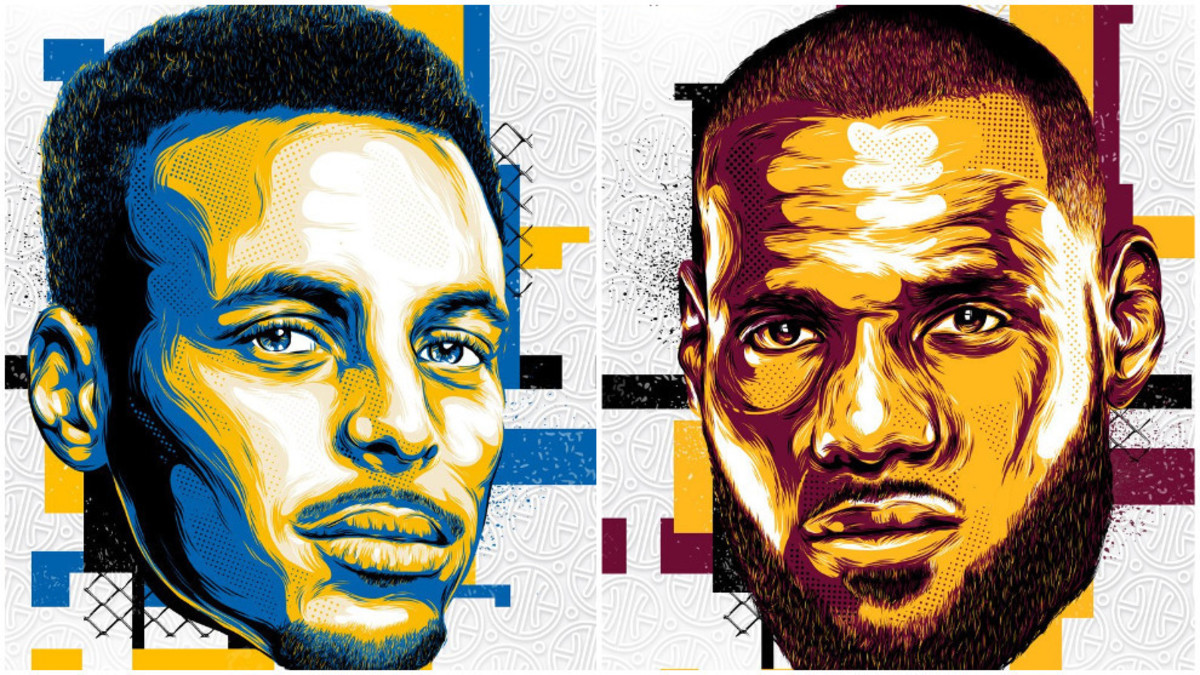 Stephen Curry y Lebron James, capitandes del All Star.